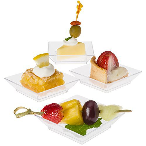 Product review for Prextex Mini Dessert Plates 2.5