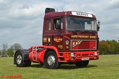 ERF E14 'V. Harvey Transport Ltd' reg F968 EKN (erfmike51) Tags: easterncountiesvintageshow2017 erfe14 truck artic cummins lorry vharveytransportltd