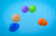 Clear transparent pool water with colorful balloons (phuong.sg@gmail.com) Tags: abstract background blue bright clean clear color cool crystal day frame horizontal light liquid locations nature outdoors pattern pool reflection refraction refreshment resort ripple rippled scene sea shiny sports summer sunlight surface swimming textured tranquil transparent travel turquoise vibrant view wallpaper water wave wet