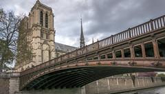 Paris bridges (Ludo_Jacobs) Tags: paris france notredame bridge seine city travel
