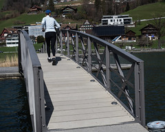 LOR020 Birkenwäldli Pedestrian Bridge over the Lorze River, Unterägeri, Canton of Zug, Switzerland (jag9889) Tags: bridge cantonzug archbridge lorze footbridge switzerland lake europe unteraegeri 20170323 2017 6314 bach bridges bruecke brücke ch cantonofzug crossing fluss fussgängerbrücke gkz676 helvetia infrastructure kantonzug outdoor pedestrianbridge pont ponte puente punt reuss reusstributary river schweiz span structure suisse suiza suizra svizzera swiss unterägeri zg zug jag9889
