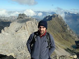 Pene Blanque (2.385 m.), Billare (2.318 m.) y Lac de Lhurs (Béarn, Francia)