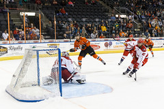 "Missouri Mavericks vs. Allen American, March 22, 2017, Silverstein Eye Centers Arena, Independence, Missouri.  Photo: © John Howe / Howe Creative Photography, all rights reserved 2017 • <a style=""font-size:0.8em;"" href=""http://www.flickr.com/photos/134016632@N02/33606011285/"" target=""_blank"">View on Flickr</a>"