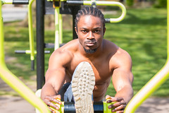 IMG_6003 (Zefrog) Tags: zefrog london uk muscle man portraiture fit fitness stretching stretch blackman iyo personaltrainer bodybuilder