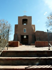 San Miguel Mission, Santa Fe (honestys_easy) Tags: nm newmexico santafe southwest madrid churches