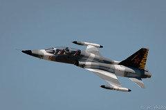 Fighter jet passing over head (pattycphotography) Tags: airshow jet aviation pilot maneuver flight nikon