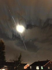 International Space Station 02.04.17  22:00 (andystones64) Tags: moon internationalspacestation iss nasa esa space travel speed manmade manned movement motion orbit lighttrail communications satellite astronauts sky clouds stars rising wonders iphone7 iphonephotography nightcappro