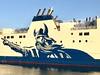 Hjaltland NorthLink Ferry 27/3/17 Aberdeen Harbour Scotland