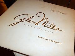 Glenn Miller Records (Brownie Hawkeye Pics) Tags: miller glennmiller music trombone worldwartwo orchestra popular rca military band