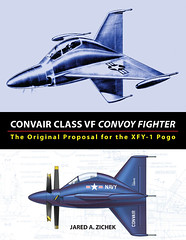 Convair Class VF Convoy Fighter: The Original Proposal for the XFY-1 Pogo (zichek8924) Tags: convair xfy1 pogo convoy fighter tailsitter vtol turboprop navy army observation reconnaissance secret project aircraft
