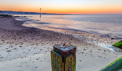 A Day At The Sea (nicklucas2) Tags: seascape beach groyne sea seaside solent pebble seashell avonbeach