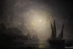 Notturno a Capri - Salvatore Fergola (atrialbyfire) Tags: palazzo zevallos stigliano palazzozevallosstigliano palazzozevallos napoli naples musei galleria fergola art caravaggio