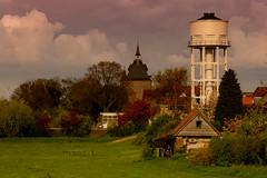 Vianen (The Netherlands) (Hans Dethmers) Tags: vianen city stad vrijstad zuidholand nederland netherlands color hansdethmers