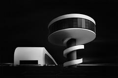 Niemeyer b&w (sgsierra) Tags: niemeyer centro asturias aviles blanck white black blanco y negro fine art