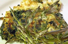 Idee per Pasqua: frittata con asparagi selvatici (RicetteItalia) Tags: gastronomia ricette asparagi frittata