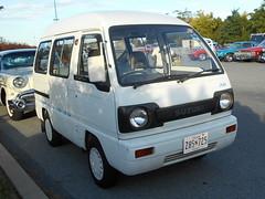 1990 Suzuki Every Join (splattergraphics) Tags: 1990 suzuki every join van jdm carshow aaca aacaeasterndivisionfallmeet hersheypa