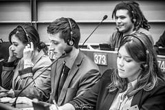 Bàlint Gyévai, member of Stand up for Europe. Pic I captured at the EU Parliament, in the frame of a debate between citizens and EU deputies. #europe #BalintGyevai #parlementeuropeen #eyeeurope #europeanparliament #portrait #benheinephotography #meeting # (Ben Heine) Tags: benheinephotography photography composition light smartphone nature landscape beauty beautiful photo photographie art ifttt instagram benheine horizon benheineart