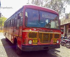 Nanded - Nizamabad (yogeshyp) Tags: msrtc msrtcparivartanbus maharashtrastatetransport nandednizamabadstbus