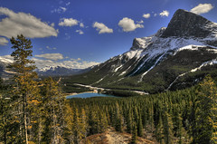 Above Canmore (Len Langevin) Tags: landscape alberta canada rockies rocky mountains scenery view nikon d300s tokina 1116