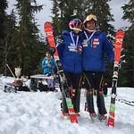 Whistler Spring Series Slalom - Day 2 men's overall podium