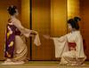 Tatsuha and Ichitomi (Rekishi no Tabi) Tags: maiko apprenticegeisha geiko geisha gion gionhanamachi gionkobu kyoto leica japan