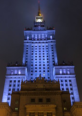 Warsaw-October '16 (89) (Silvia Inacio) Tags: warsaw varsóvia warszawa poland polónia palac palácio palace night noite tower torre light