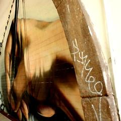 mini_new_003 (Pablo Alvarez Corredera) Tags: urbano arte graffiti oviedo uvieu lapiz mano escritura lagrimas lagrima tristeza cara lapicero carne