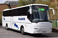 N18OVA (WA08GPJ)  McLeans, Airdrie (highlandreiver) Tags: n18ova n18 ova wa08gpj wa08 gpj mcleans coaches airdrie lanarkshire bova futura bus coach carlisle cumbria