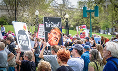 2017.04.15 #TaxMarch Washington, DC USA 02318 (tedeytan) Tags: pennsylvaniaavenue resistance taxmarch taxmarchdc taxmarcdc trumpchicken trumpinternationalhotel donaldtrump protest uscapitol washington dc unitedstates geo:city=washington exif:aperture=ƒ71 camera:make=sony exif:make=sony exif:model=ilce6300 geo:state=dc geo:country=unitedstates camera:model=ilce6300 exif:isospeed=100 exif:lens=e18200mmf3563 exif:focallength=924mm