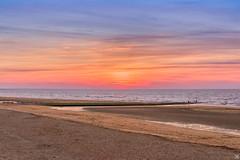 Cabourg plage (tjwsphotographies) Tags: sand beach landscape paysage nature nikon nikond610 2485mm 2485 24mm nikkor cabourg cabourgplage divessurmer calvados normandie france mer manche plage sable coucherdesoleil sunset port guillaume portguillaume dives divais divaise nuages soleil vagues