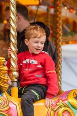 3D3A9020 (janescanlan) Tags: boy child fairground carousel