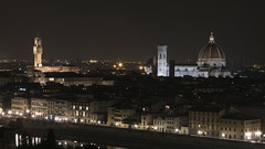 Florence (Nick T Kelly) Tags: florence firenze night italy tuscany italia duomo cathedral cattedrale di santa maria del fiore arnolfo cambio unesco world heritage site brunelleschi dome michelangelo hill 1436 giotto bell tower piazzale