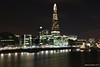 Shard from Tower Bridge (maurizio.merico) Tags: london ohhh night light shard piano renzo skyscrapers skyline
