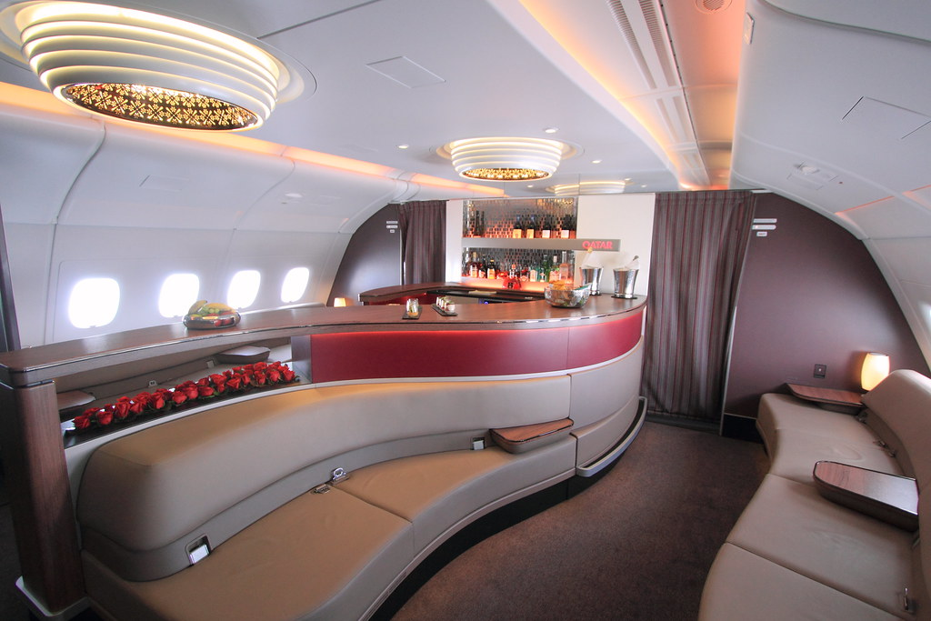 The world 39 s best photos of a380 and inside flickr hive mind for Interieur qatar airways