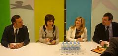 La eurodiputada Eva Ortiz visita Ibi para conocer las necesidades del sector juguetero