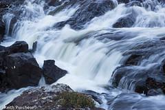 2 Rapids on River Sligachan (keithpurchese) Tags: uk longexposure morning white sunrise scotland early movement whitewater moody isleofskye heather fast rapids angry flowing digitalphoto noisy greys cascading riversligachan