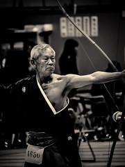 Kyud, passage de dan 2014 - 09 (Stphane Barbery) Tags: dan japan kyoto arc   japon tir kyud miyakomesse