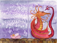 "Dragon on a wall card <a style=""margin-left:10px; font-size:0.8em;"" href=""https://www.flickr.com/photos/66157425@N08/13927948568/"" target=""_blank"">@flickr</a>"