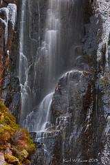 Wailing Widow Falls (Shuggie!!) Tags: ice water landscape scotland waterfall highlands heather cliffs lichen hdr assynt zenfolio