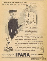 Ipana 1946 (Runabout63) Tags: toothpaste advert ipana