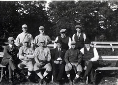 Faculty baseball team, 1922