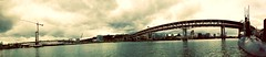 The new look of the Willamette (Ben McLeod) Tags: bridge river portland bridges submarine trimet willametteriver uss omsi ussblueback marquambridge autoban blueback tilikumcrossing