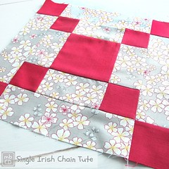 Single Irish Chain Block Tute for #nycmetromod posted on blog (link in IG profile) #IrishChain #BeeBlocks #tute #tutorial #quiltingblocks #NYCModQuiltGuild @freespiritfabric @valoriwells #madebyChrissieD (Chris Dodsley @made by ChrissieD) Tags: tutorial tute irishchain freespiritfabric valoriwells quiltingblocks beeblocks uploaded:by=instagram nycmodquiltguild madebychrissied