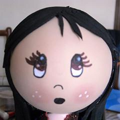 Carita (La Bruji de Goyi) Tags: doll dolls valladolid foam foamy fofucho 2013 foami gomaeva fofucha fofuchas labrujidegoyi