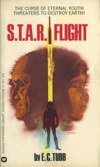 Tubb, E.C. - S.T.A.R. Flight (exaquint) Tags: scifi bookcover