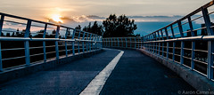 Sendero Urbano (Aaron Cameras) Tags: bridge sun beauty contrast mexico outdoors atardecer evening twilight nikon exposure dusk wide trendy roads popular cholula puebla amateur lightroom 18105 flickrexplore angelopolis digitalrev d7000 thegalleryoffinephotography froknowsphoto fronation