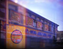 NY Flat Iron Building and Coney Island Series (Raf Ferreira) Tags: street new york city nyc usa ny film brooklyn speed island photography fuji graphic kodak large shift iso f eua 25 4x5 format 100 rafael coney tilt fujichrome aero graflex astia ektar tiltshift pacemaker ferreira peixoto 178mm