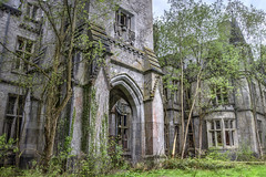 Foliage Reclaims the Castle (tj.blackwell) Tags: house tower castle history abandoned architecture french europe belgium decay secret ardennes neglected 19thcentury haunted forgotten revolution disused mansion forsaken residence derelict deserted luxemburg majesty crumbling namur 1866 grandiose walloon celles unoccupied chateaumiranda liedekerke chteaudenoisy mirandacastle noisycastle edwardmilner pelchner countliedekerkebeaufort