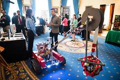 White House Science Fair (201405270034HQ) (NASA HQ PHOTO) Tags: stem whitehouse nasa sciencefair katelynsweeney aubreygemignani oliviavanamsterdam