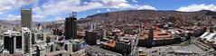 La Paz (slgrnontheroad) Tags: streets skyscraper buildings edificios paz ciudad panoramic ville panormica rascacielo sagarnaga